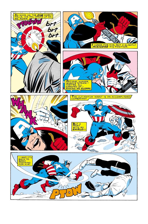 Captain America (1968) Issue #322 #250 - English 20