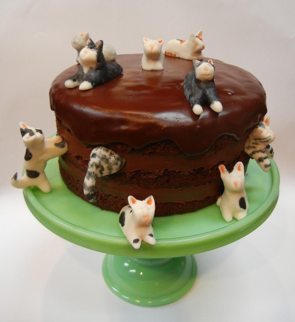 Birthday Cake For Cat Lovers