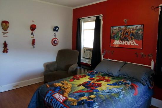 Fotos y dise o de dormitorios todos los estilos los for Dormitorio super heroes