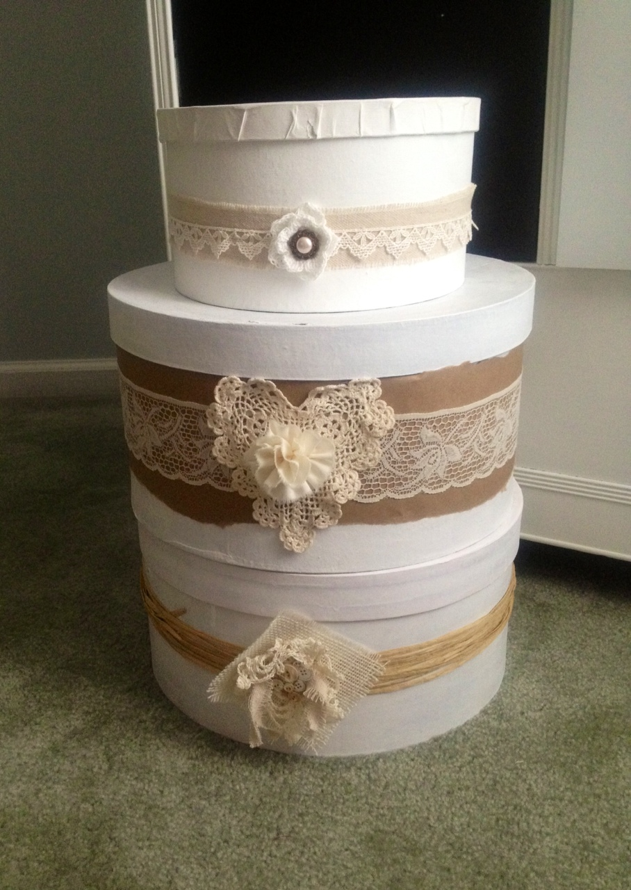 Craft hat boxes - Hat Boxes And More