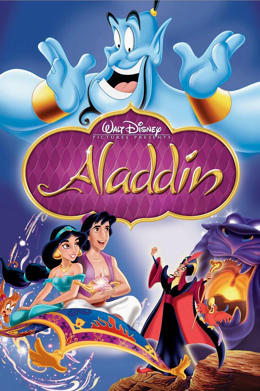 Aladdin Disney Poster Recensione