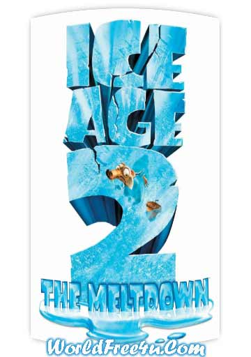Poster Of Ice Age 2: The Meltdown 2006 In Hindi Bluray 1080P Free Download