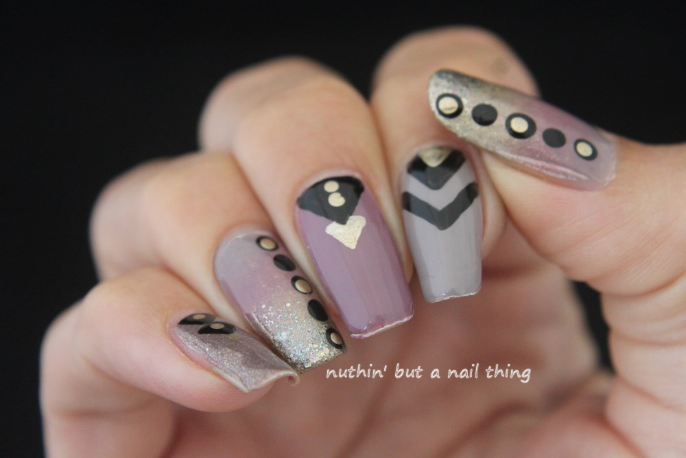 Nuthin But A Nail Thing Tribal Nail Art