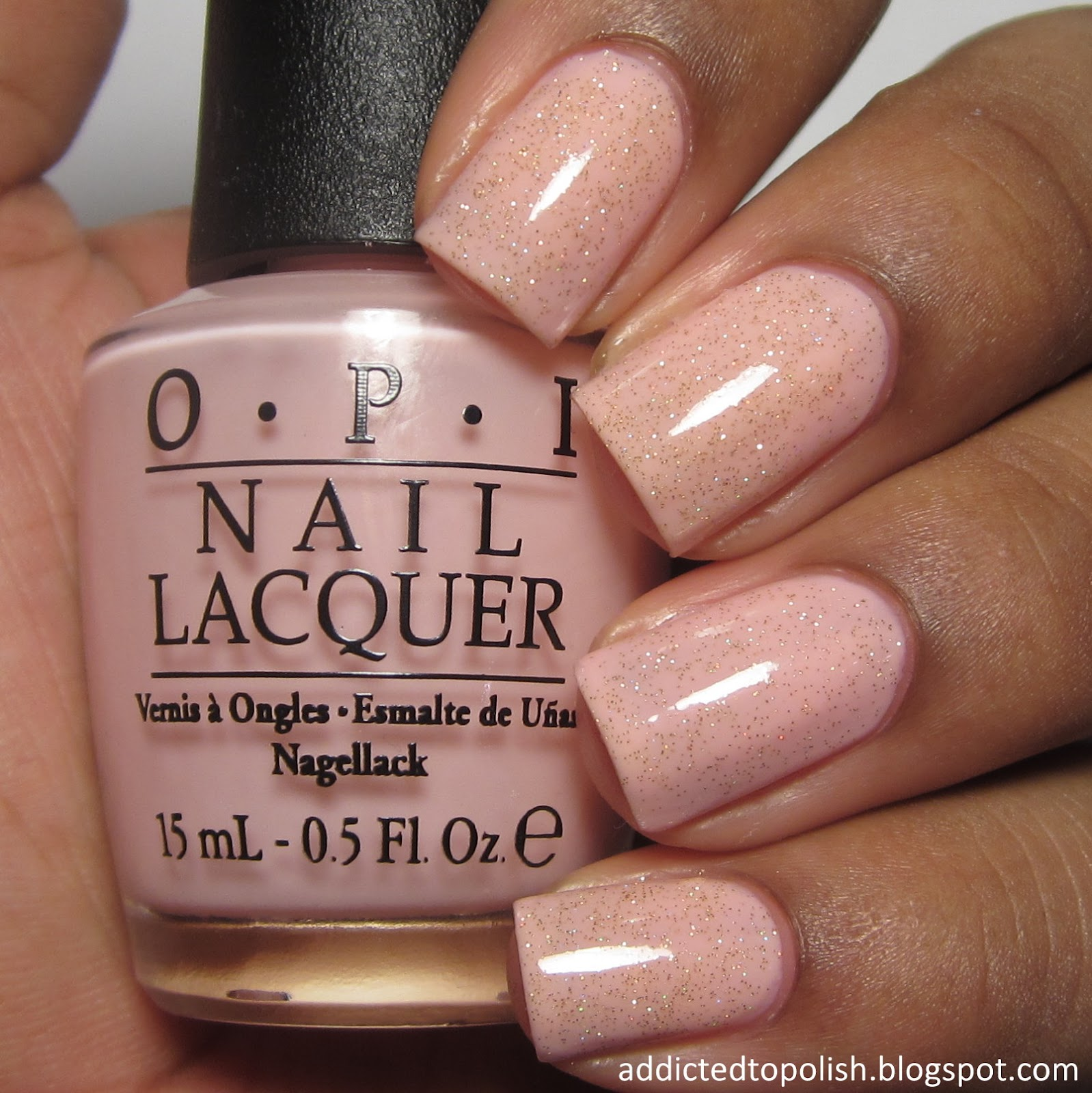 opi i theodora you china glaze golden enchantment