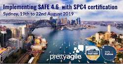 Implementing SAFe, Sydney, 19 August 2019