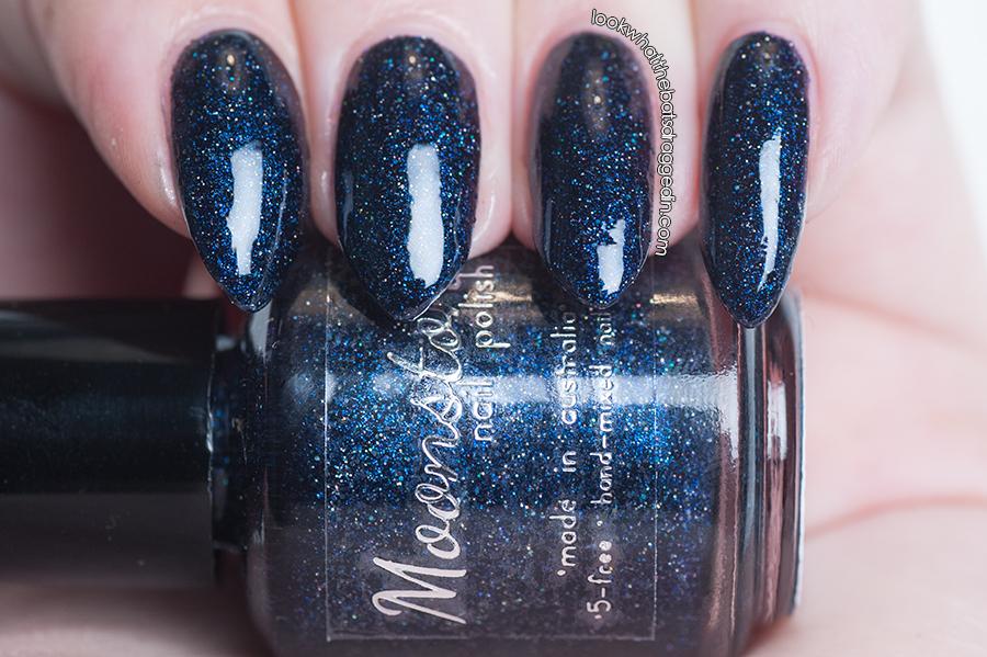 Moonstone Nail Polish Supermassive nail polish swatch