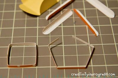 Χάρτινα έπιπλα μινιατούρες για κουκλόσπιτο-tutorial