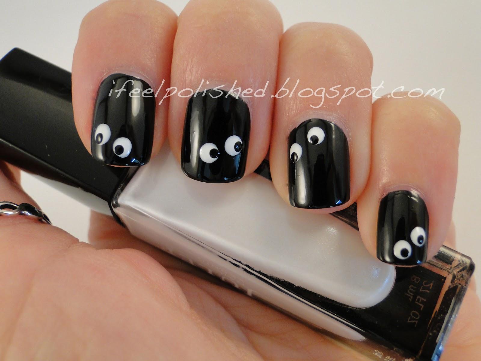 I Feel Polished!: Halloween Nails: Googly Eyes
