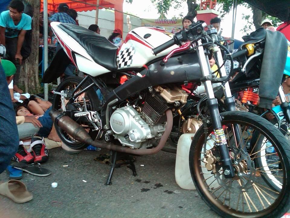 Vixion Blok Head Satria Fu Surabaya