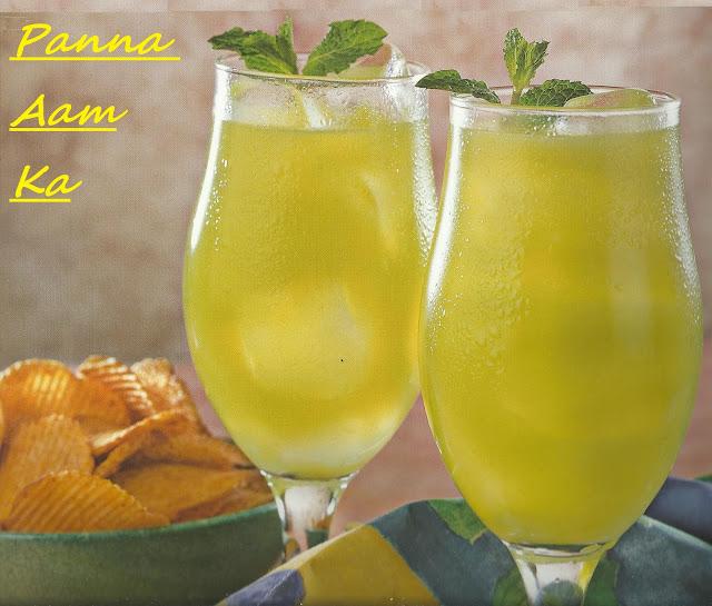 Panna Aam Ka / Raw Mango Juice In Microwave