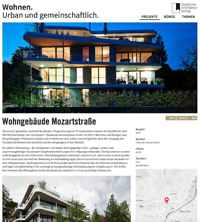 DAV Wohnen Urban und Gemeinschaftlich h4a Architekten