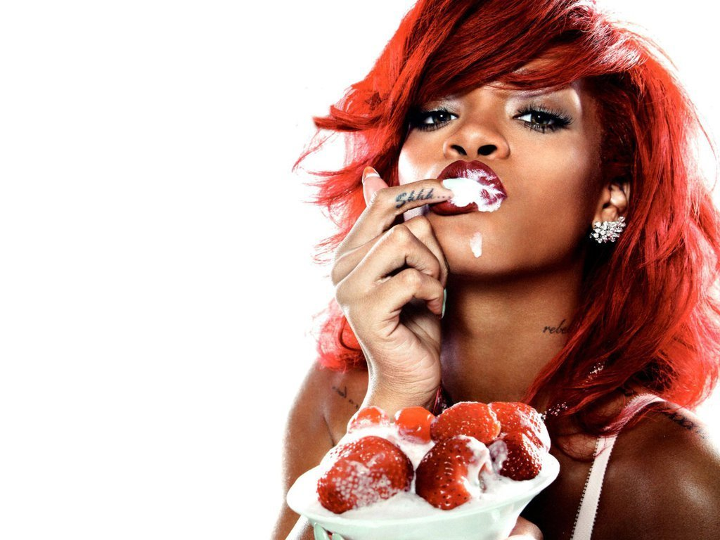 elva barnett: rihanna wallpaper hd