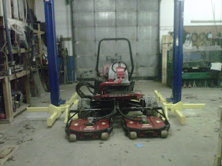 in from the bay door your looking at and reversing the plates