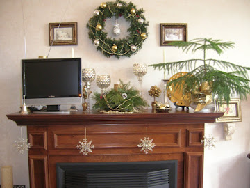 2012 Christmas Mantle/Mantel