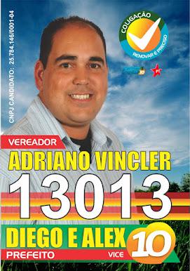 Adriano Vincler candidato a vereador