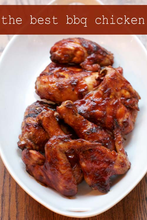 ... to want to make this recipe for the best barbecue chicken immediately