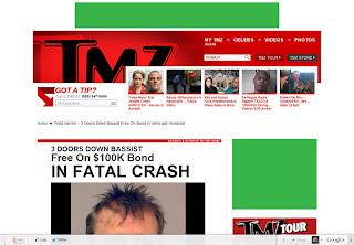 правильное размещение рекламы на сайте TMZ.com