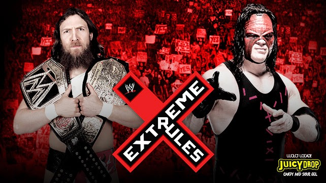 Extreme Rules Match por el WWE World Heavyweight Championship