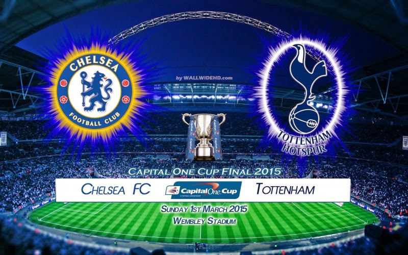 Prediksi Skor (Line-Up) Chelsea vs Tottenham Hotspur Final Capital One Cup (Minggu, 1 Maret 2015)