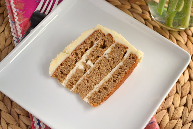 Spice Cake with Bourbon Buttercream recipe