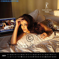 Aishwarya Rai Bachchan on Dabboo Ratnani 2013 Calendar Hot Celebrities Photoshoot Stills