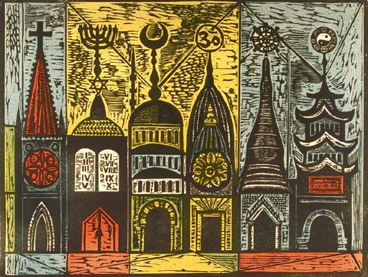 Irving Amen – woodcuts | Woodcuts and Lino Prints ...