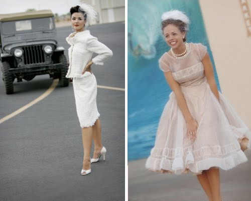 All about the wedding celebration 60s style wedding dresses