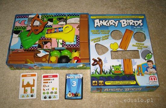 gra dla dzieci - wściekłe ptaki