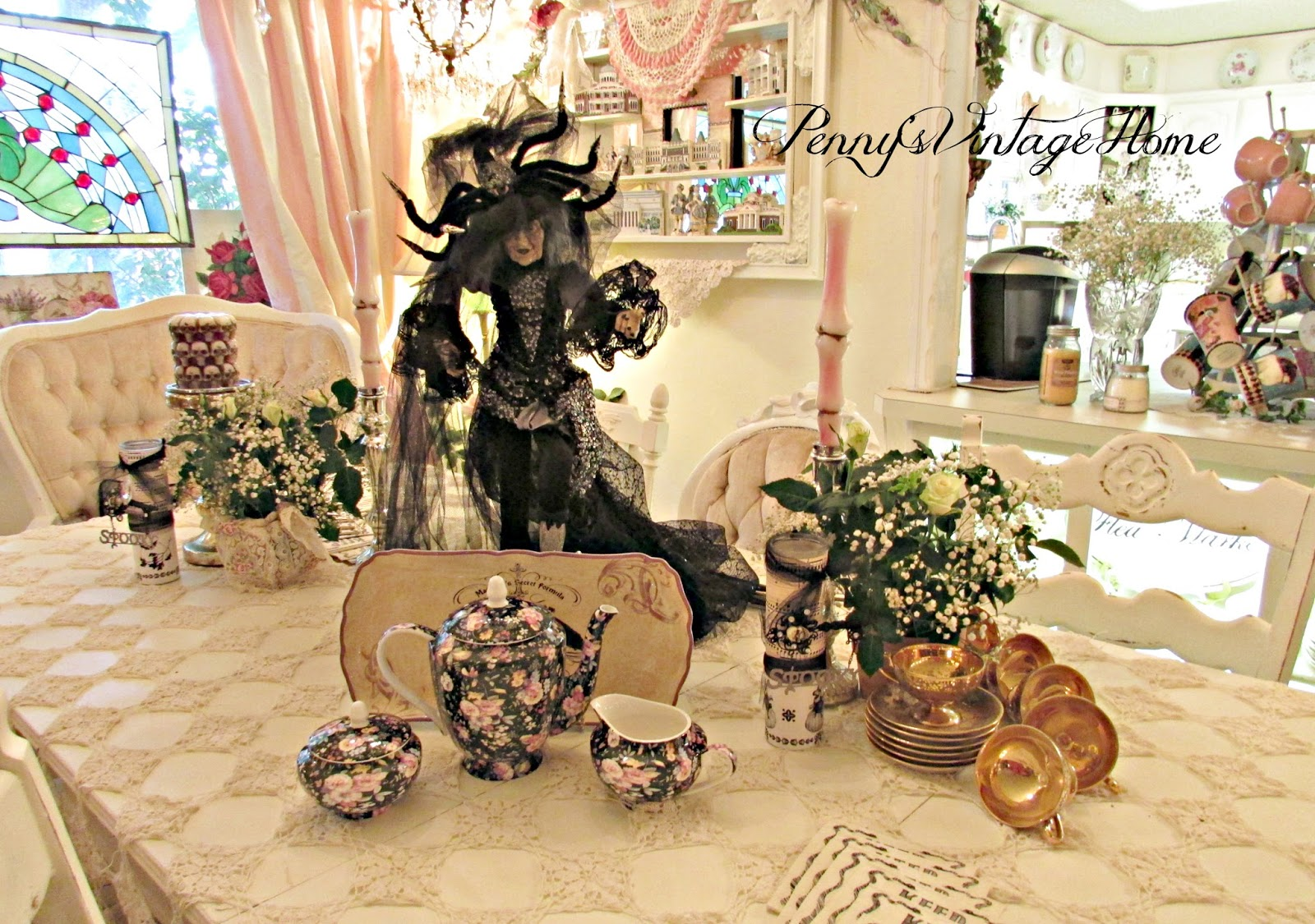 Witches tea party