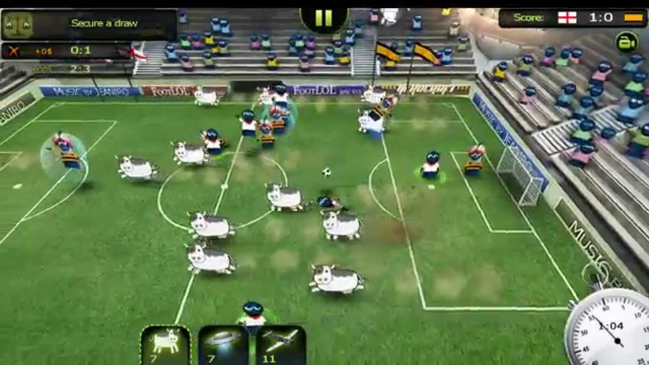 FootLOL: Crazy Soccer Gameplay IOS / Android