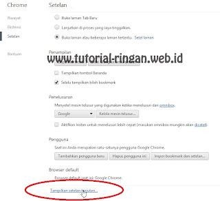 Cara Setting Proxy di Google Chrome