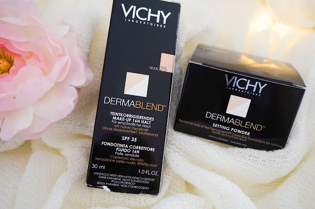 Vichy Dermablend Corrective Foundation & Setting Powder