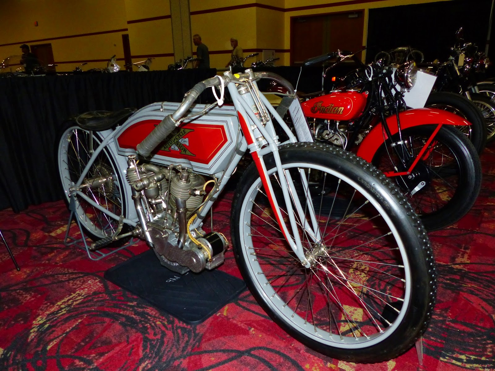 1913 Excelsior Board Track Racer For Sale At The 2015 Mecum Las Vegas Motorcycle Auction