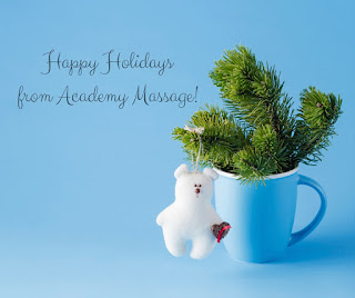 Happy Holidays from Academy Massage - Academy Massage - Massage Therapist Winnipeg