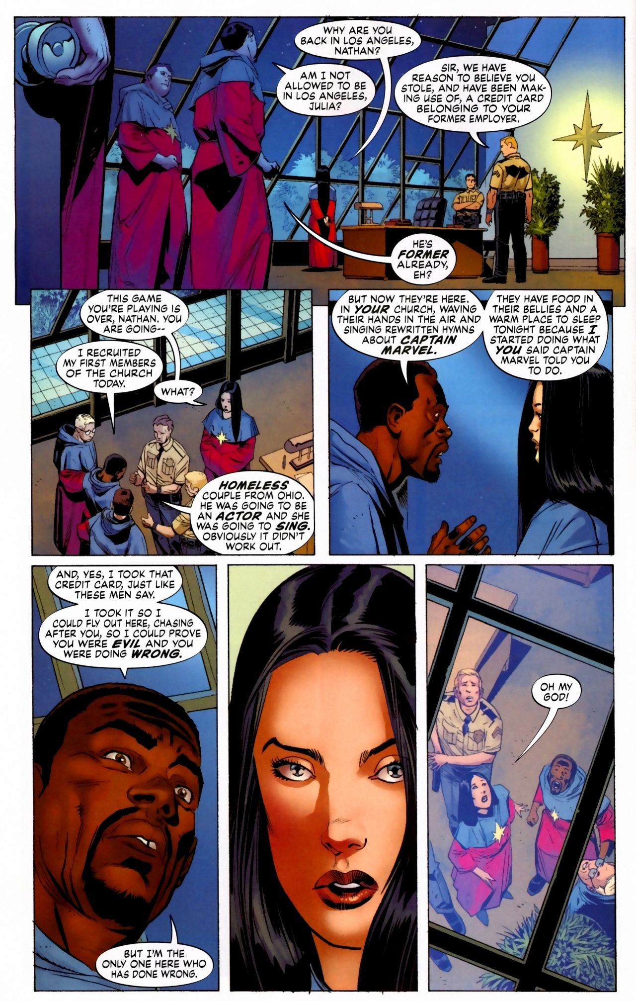 Read online Secret Invasion: The Infiltration comic -  Issue #5 - 12