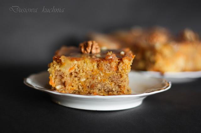 ciasto marchewkowe, przepis na ciasto marchewkowe, carrot cake, ciasto marchewkowe z orzechami