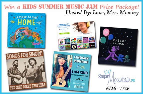 Kids Summer Music Jam Giveaway