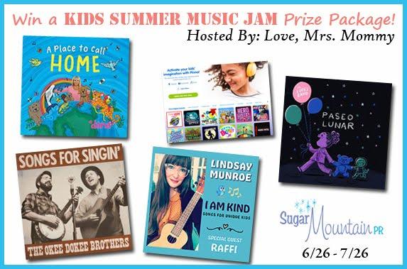 Kids Summer Music Jam Giveaway