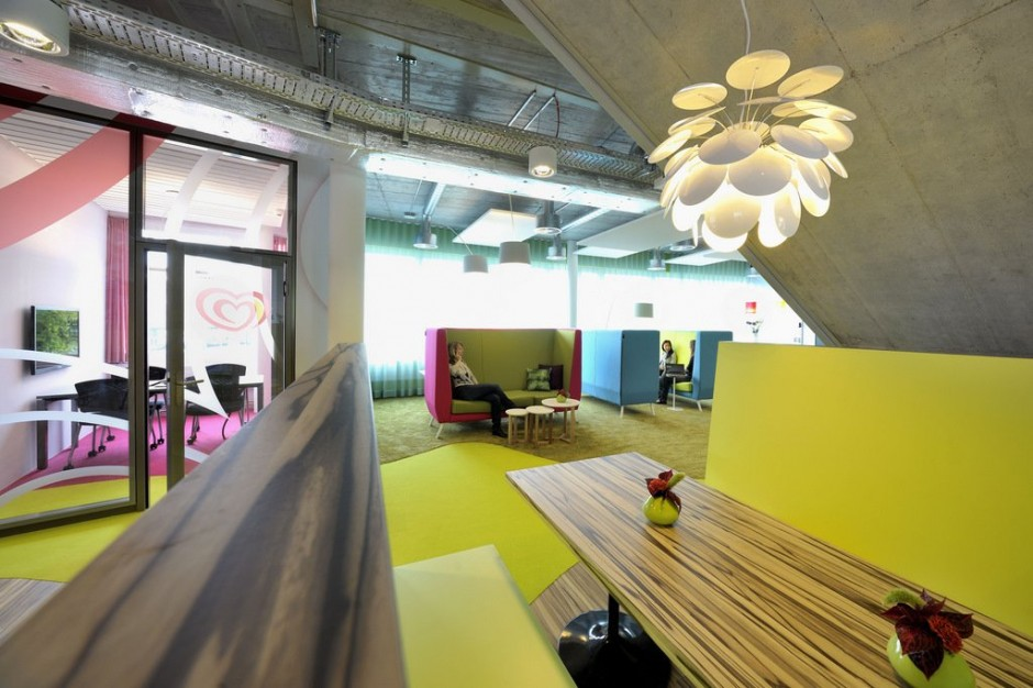 Amenzind Evolution Designed A New Office Interior For Unilever