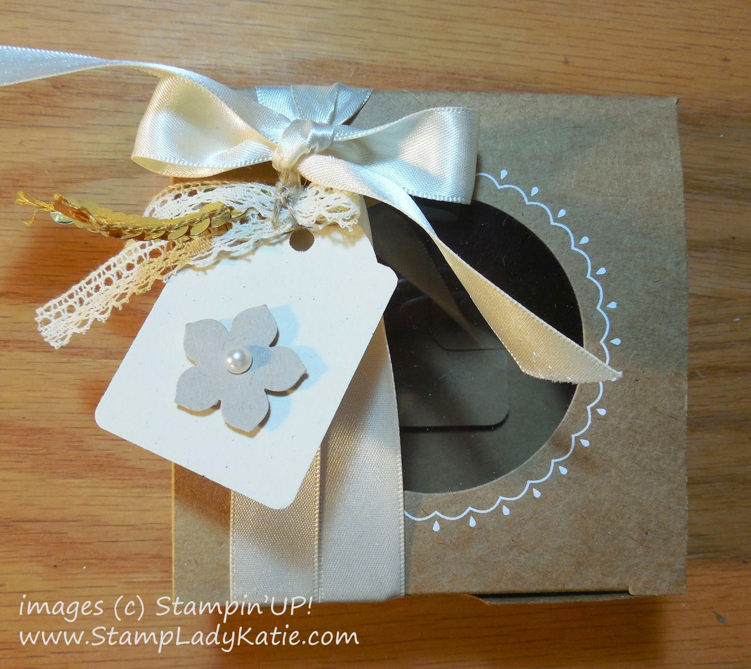A decorated Gift Box