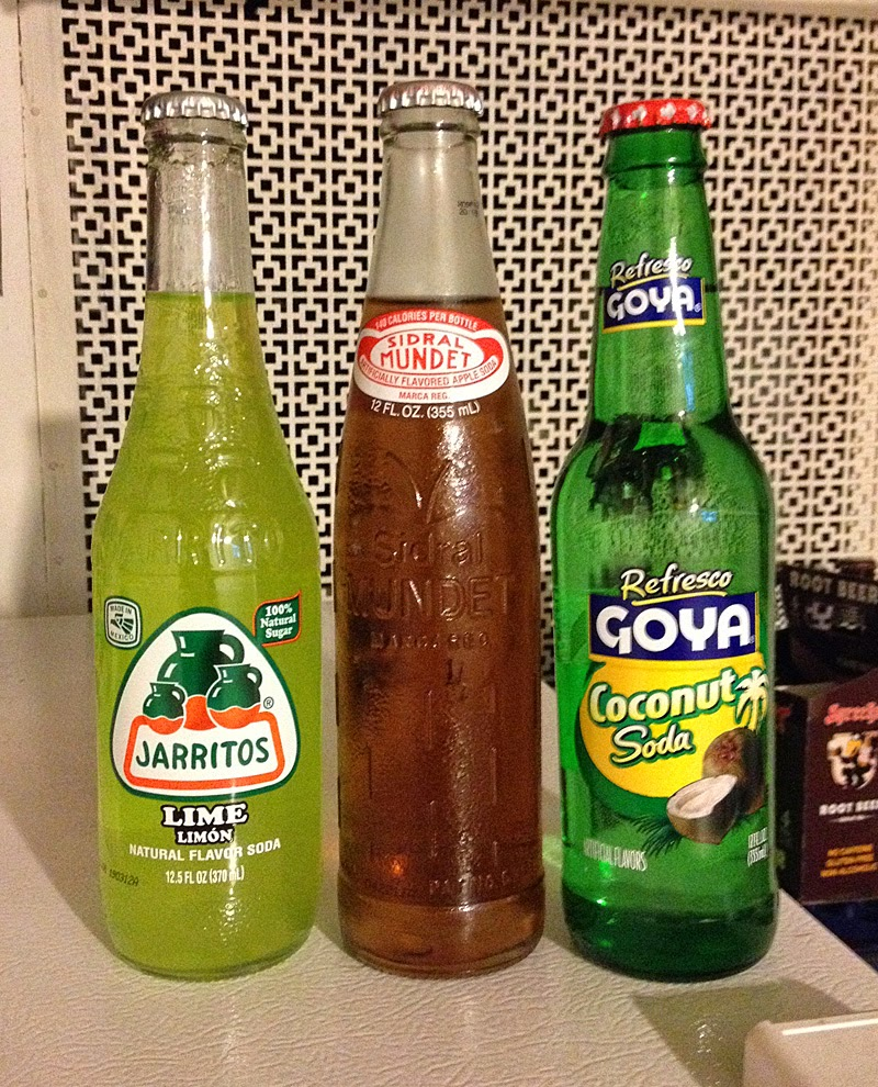 Mexican sodas from Cub.