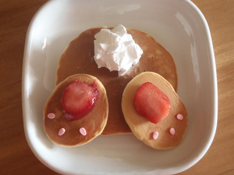 Sunday Morning Pancake Bunny Tushies