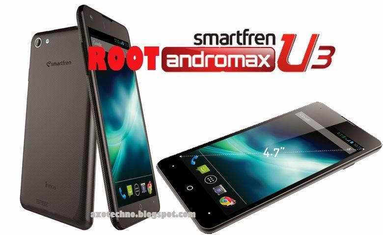 Cara Root dan Unroot Andromax U3