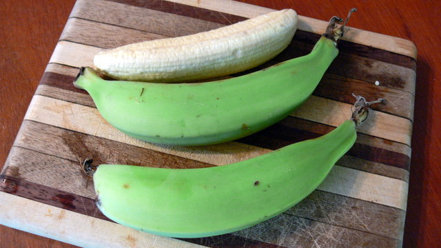 how to make green plantains