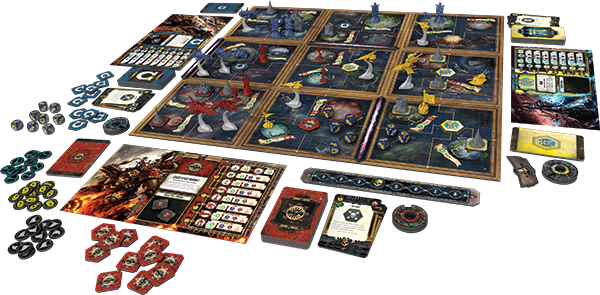 Warhammer 40,000 Forbidden Stars board game