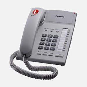 jual telepon Panasonic kx-ts820w di denpasar bali