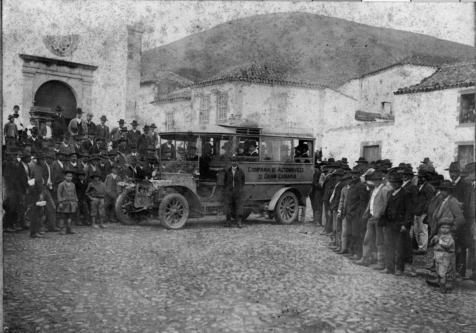 Imagen nº324, propiedad del archivo de fotografía histórica de LA FEDAC/CABILDO DE GRAN CANARIA. Realizada por D. Enrique Ponce en el año 1913.