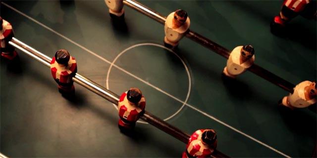 Derbi en Futbolín