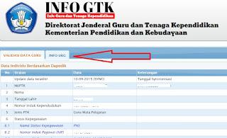 gambar cek info GTK 2015