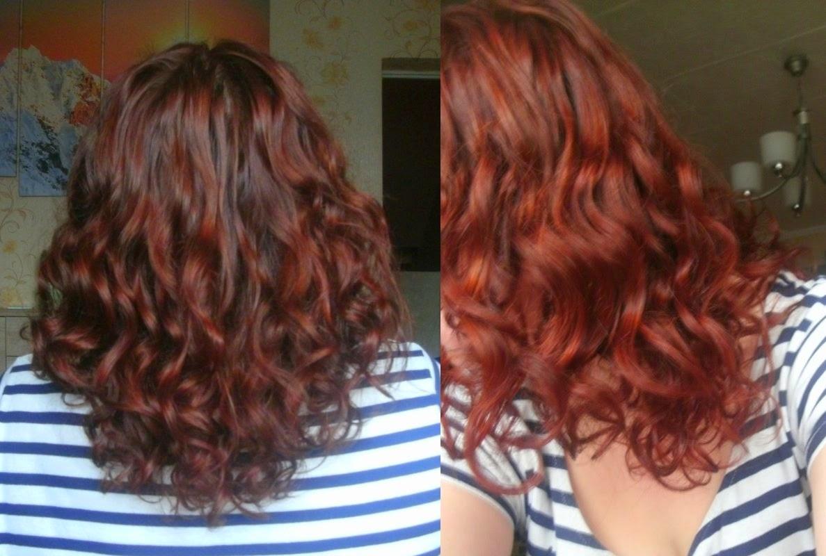 Niedziela dla włosów z maseczką marion do włosów czerwonych :)